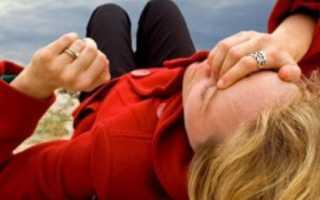 Падение во время беременности на спину или на бок