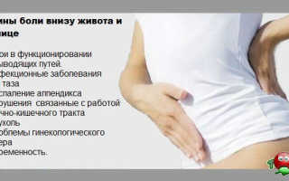 При беременности болит низ живота и поясница