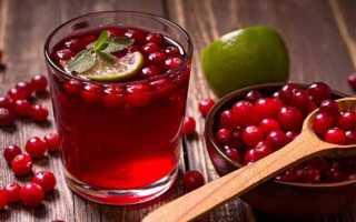 Клюква от цистита: рецепты, способы применения