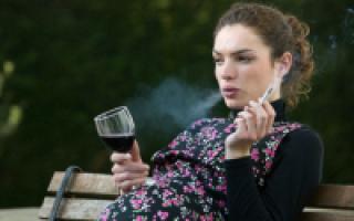 Можно ли употреблять алкоголь во время беременности?